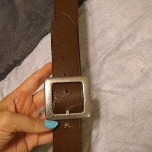 Women's brown belt Size Medium